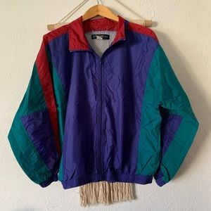 Vintage Sport Architect Windbreaker Jacket